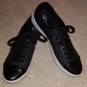Michael Kors Women's MK City Sneaker - Black